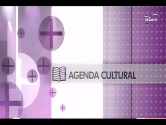 TVCOM Tudo Mais - 2o bloco - Agenda Cultural - 13/12/2013