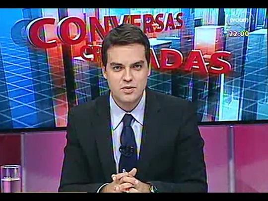 Conversas Cruzadas - Debate sobre o interminável julgamento do mensalão - Bloco 1 - 27/02/2014