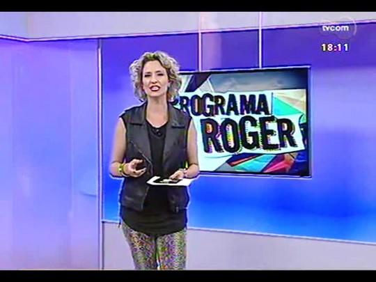 """Programa do Roger - Pré estréia do filme \""""Noé\"""", conversa com Russell Crowe, ator - Bloco 3 - 03/04/2014"""