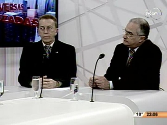 Conversas Cruzadas - Debate entre Candidatos a Vice governador- 1ºBloco - 07.08.14