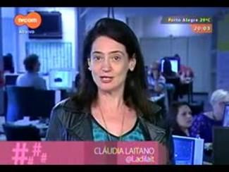 #PortoA - Cláudia Laitano dá dica sobre recitais com Olinda Allessandrini em POA