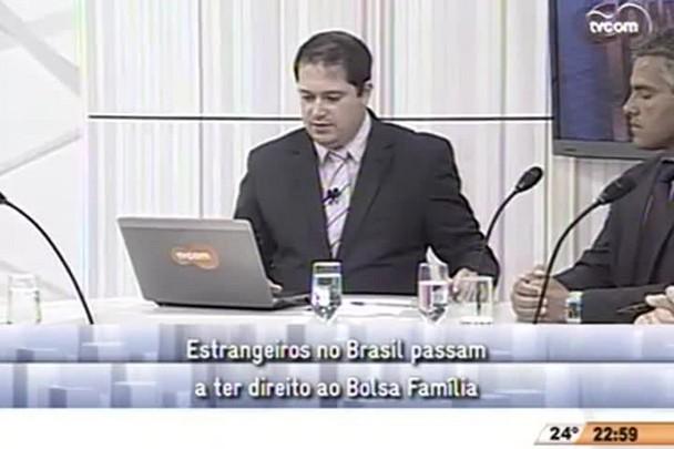Conversas Cruzadas - Estrangeiros no Brasil passam a ter direito ao Bolsa Família - 4º Bloco - 17.12.14