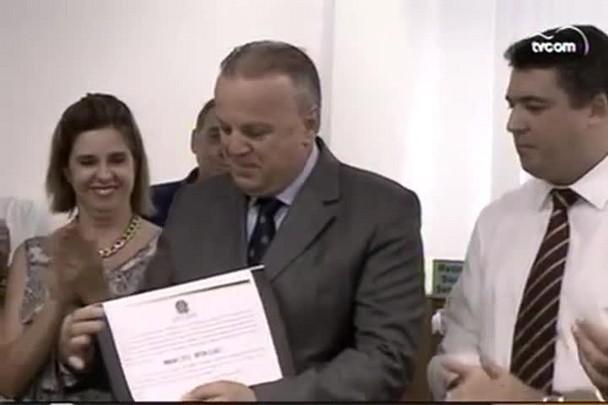 TVCOM 20h - Márcio Búrigo é diplomado e toma posse como vice-prefeito de Criciúma - 19.1.15