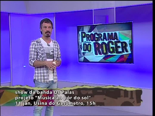 Programa do Roger - Os Palas - Bloco 2 - 08/01/15