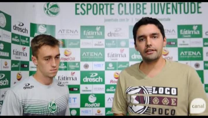 Lateral Duda fala sobre a expectativa do jogo contra o Ypiranga e dá recado ao torcedor