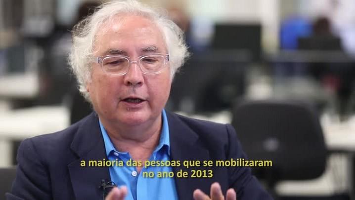 Manuel Castells: ideais de mudança x políticos conservadores