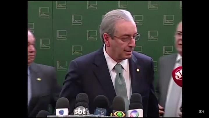 Eduardo Cunha rompe com governo Dilma
