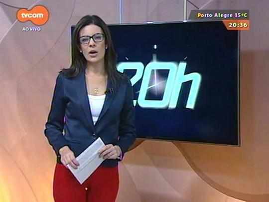 TVCOM 20 Horas - Secretaria da Saúde vai quitar dívida de R$ 210 milhões com as Santas Casas e hospitais filantrópicos - 24/08/2015