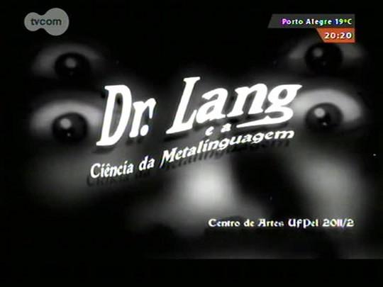 Faixa Universitária - Dr. Lang: um curta do curso de Cinema e Animação da UFPel