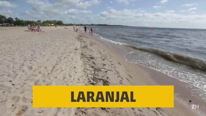 Laranjal, a praia dos pelotenses