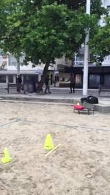 Vídeo mostra agressão em Balneário Camboriú