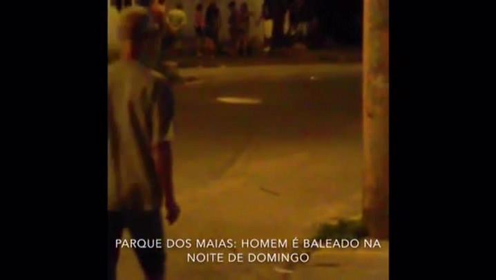 Vídeo mostra execução na zona norte de Porto Alegre