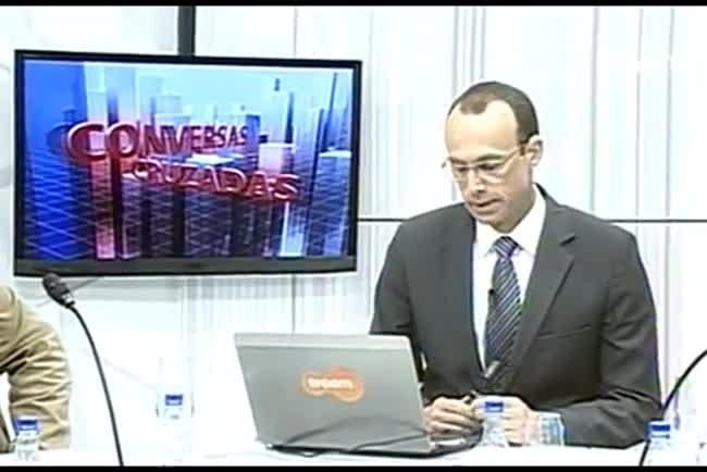 TVCOM Conversas Cruzadas. 3º Bloco. 25.05.16