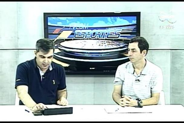 TVCOM Esportes. 3º Bloco. 12.07.16