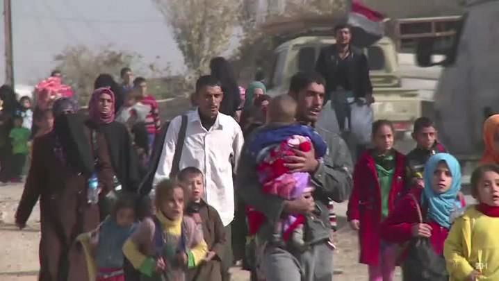 Forças iraquianas retomam cidades na periferia de Mossul
