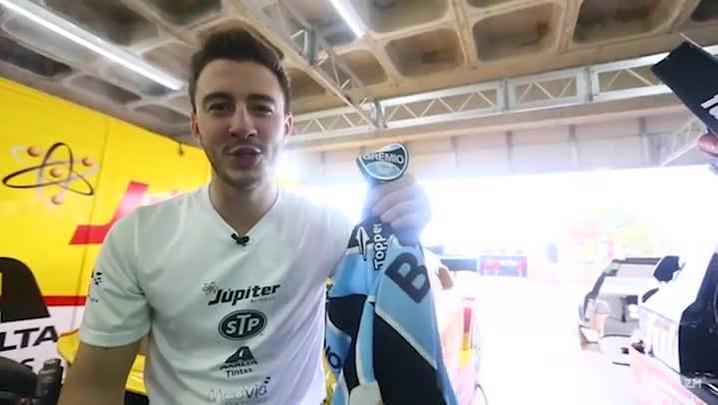 Gabriel Casagrande fala sobre paixão pelo Grêmio