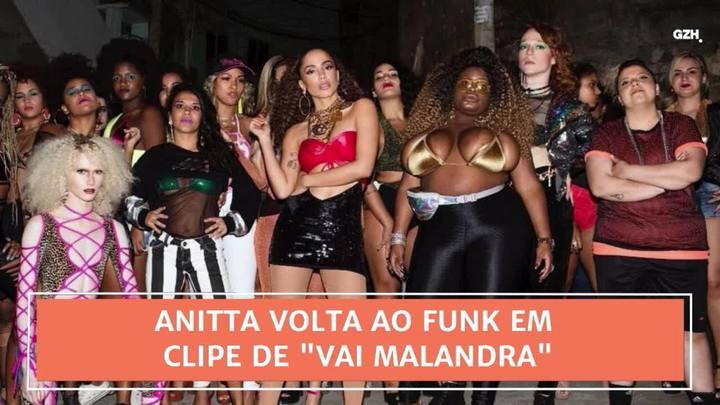 """Conexão GaúchaZH: Anitta volta ao funk em clipe de """"Vai Malandra\"""""""