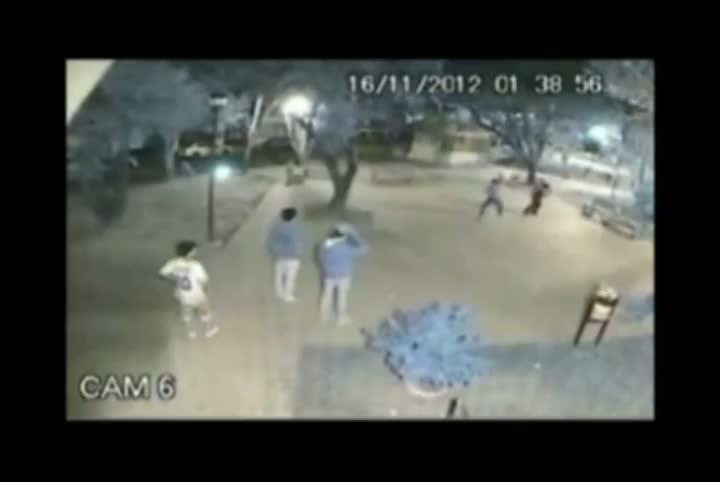 Confusão em Praça deixa duas pessoas feridas em Santa Maria