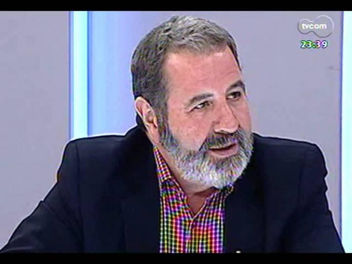 Mãos e Mentes - Presidente da ONG Que no se repita, José Iglesias - Bloco 4 - 03/03/2013