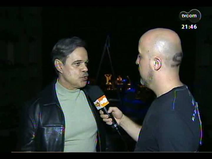 TVCOM Tudo Mais - Fabrício Carpinejar conversa com o ator Diogo Vilela