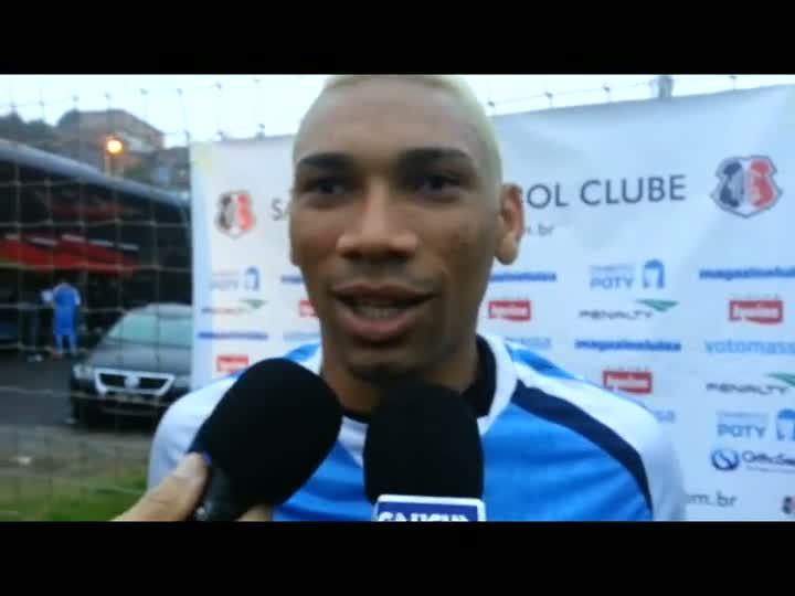 Flávio Caça-Rato projeta confronto contra o Inter. 15/05/2013
