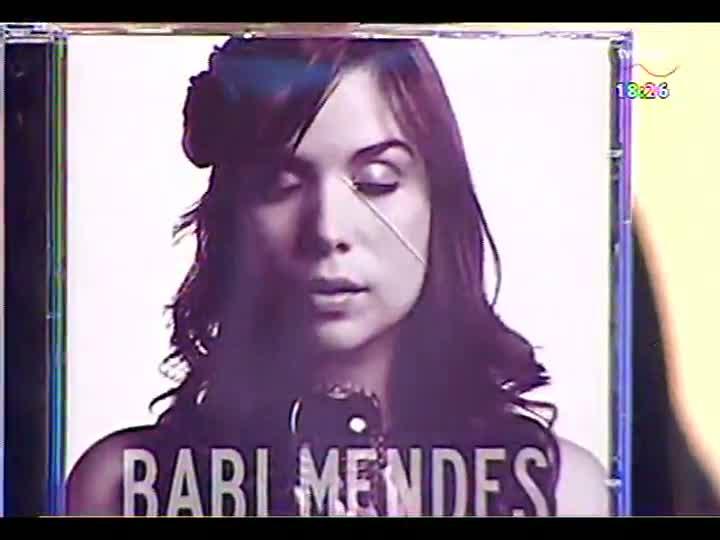 Programa do Roger - Entrevista e apresentação da cantora e compositora Babi Mendes - bloco 4 - 31/05/2013