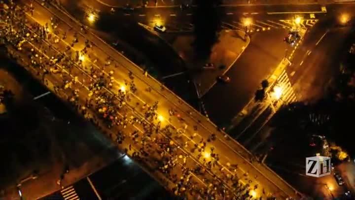 Novo protesto leva 20 mil às ruas de Porto Alegre