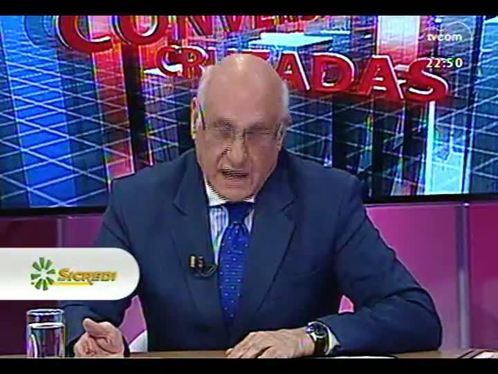 Conversas Cruzadas - O impasse para a desocupação da Câmara de Porto Alegre - Bloco 3 - 15/07/2013