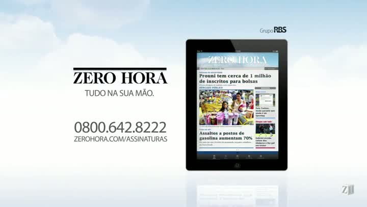 Leia na Zero Hora desta quinta-feira (08/08/2013)