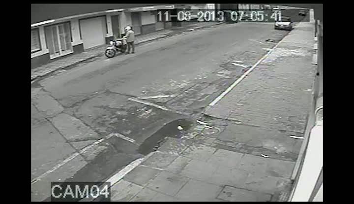 Vídeo inédito do momento do atentado à boate em Santa Maria