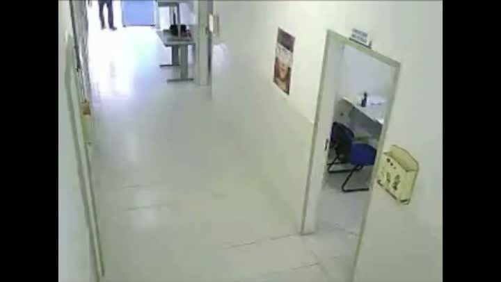 Furto em unidade de saúde de Itajaí