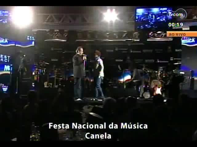 Festa Nacional da Música 2013 - Show: Sandra de Sá