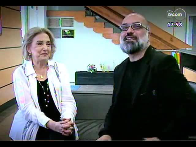 Programa do Roger - Atriz Eva Wilma fala sobre sua peça \'Azul resplendor\' - bloco 2 - 25/10/2013