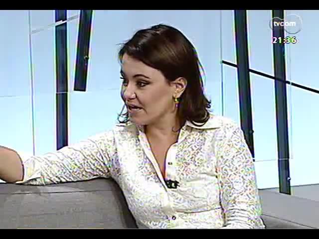 TVCOM Tudo Mais - Escritora Claudia Tajes dá dicas de livros