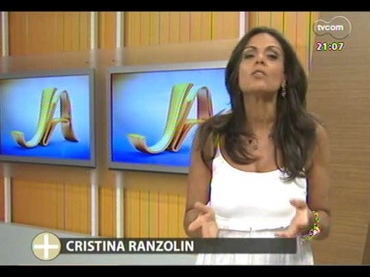 TVCOM Tudo Mais - Cristina Ranzolin conta o que foi Tudo Mais em 2013?
