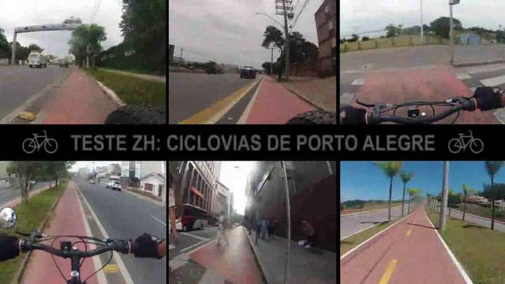 Teste ZH: as ciclovias de Porto Alegre