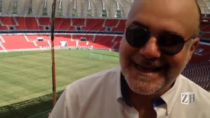 Diretor artístico de festa da reinauguração do Beira-Rio conta detalhes sobre evento