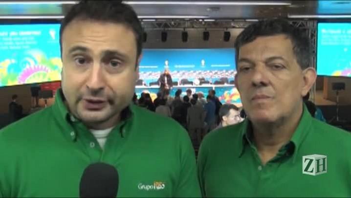 Gabardo e Sérgio Guimarães comentam a expulsão de Suárez da Copa