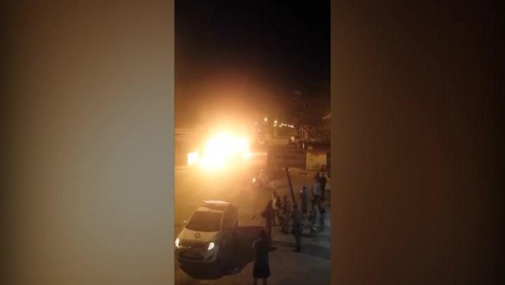 Ônibus são incendiados na Grande Florianópolis