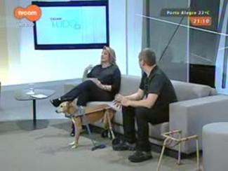TVCOM Tudo Mais - 'Tudo+Pet': Inventor produz cadeira de rodas para cachorros. Saiba mais