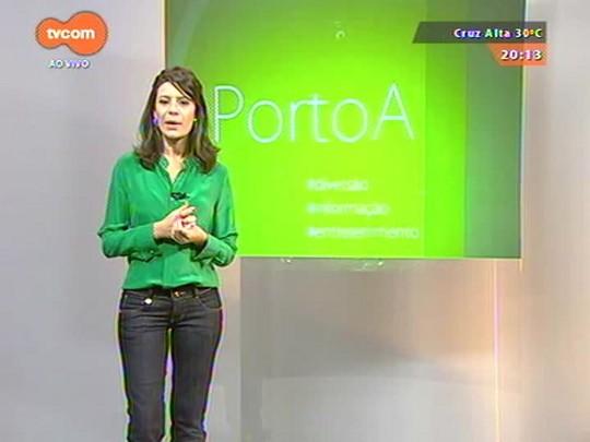 #PortoA - Cláudia Laitano fala do show e do novo álbum do rapper Criolo