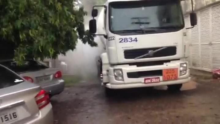 Oxigênio vaza novamente no PA do Patronato, em Santa Maria