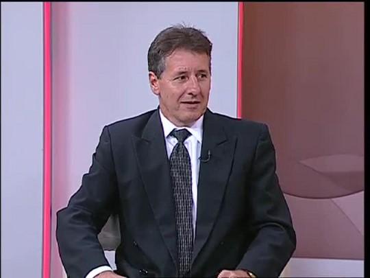 TVCOM 20 Horas - Entrevista com o secretário de desenvolvimento rural e cooperativismo do Estado - 11/03/15