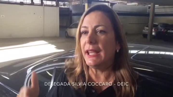 Delegada Silvia Coccaro de Souza fala sobre operação para coibir furto de cabos de telefonia