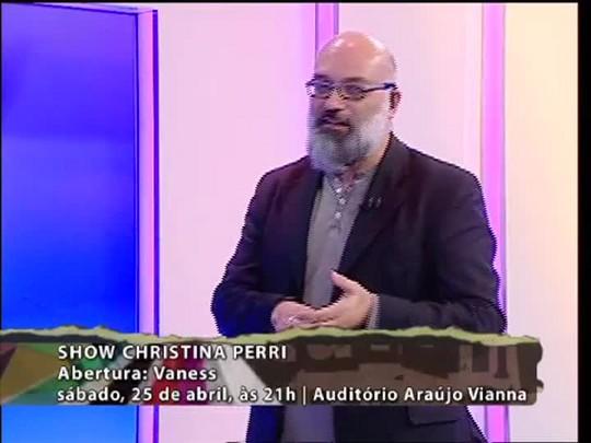 Programa do Roger - Vaness e Márcio Philomena - Bloco 2 - 22/04/15
