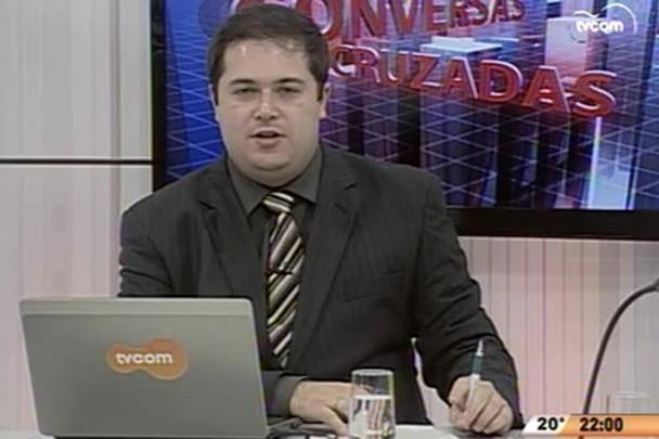 Conversas Cruzadas - SC tem menor taxa de desemprego do país - 1º Bloco - 13.05.15