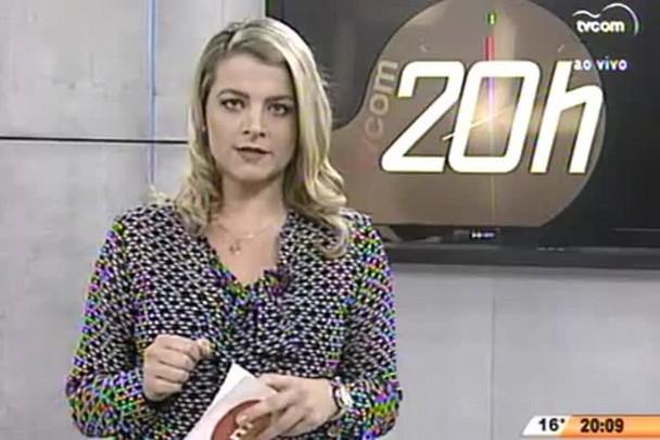 TVCOM 20 Horas - Secretário de segurança pública de Palhoça comenta sobre os transtornos da chuva - 24.07.15