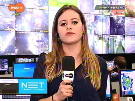 TVCOM 20 Horas - Motorista atropela grupo de garis e tem carro jogado no Arroio Dilúvio - 26/08/2015