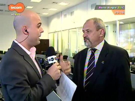 TVCOM 20 Horas - Prefeitura da capital anuncia empresas vencedoras do edital do transporte público - 24/09/2015