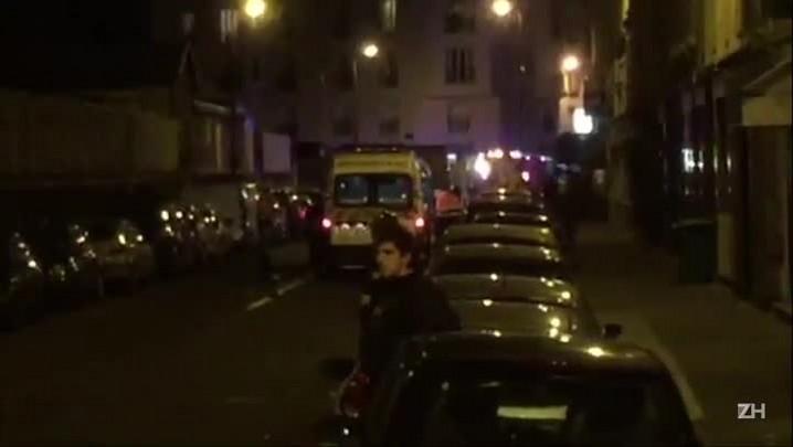 Explosões em Paris